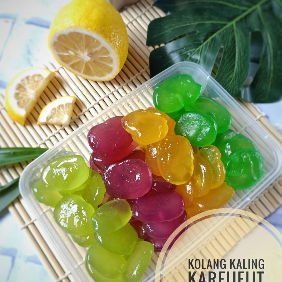 Manisan Kolang Kaling Kareueut mix cup 500gr