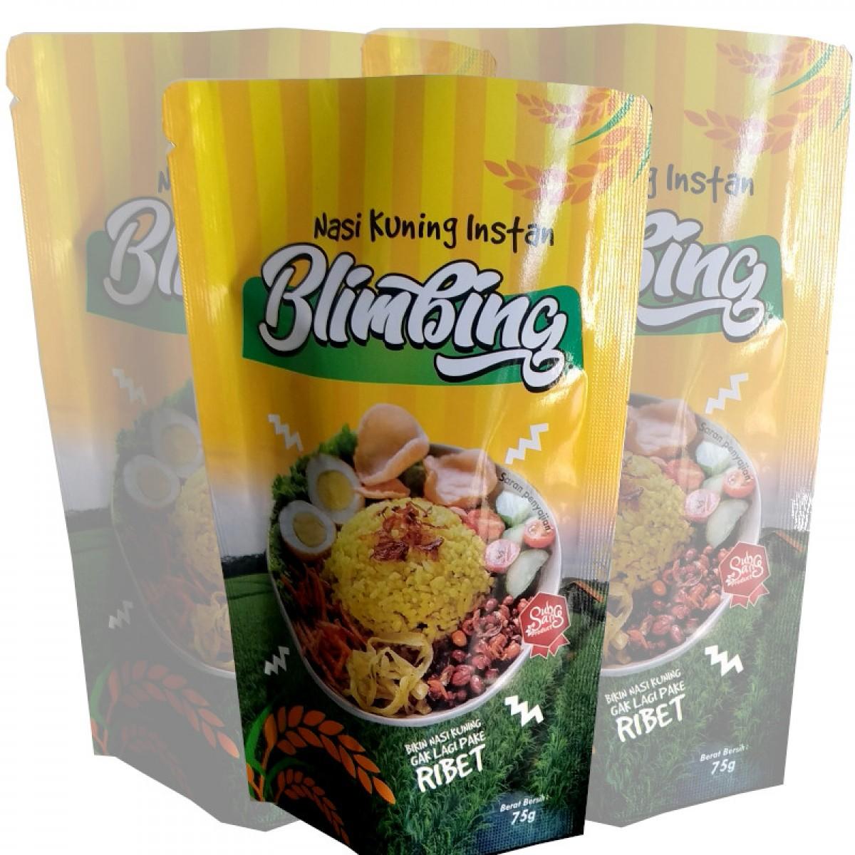 Nasi Kuning Instant Blimbing