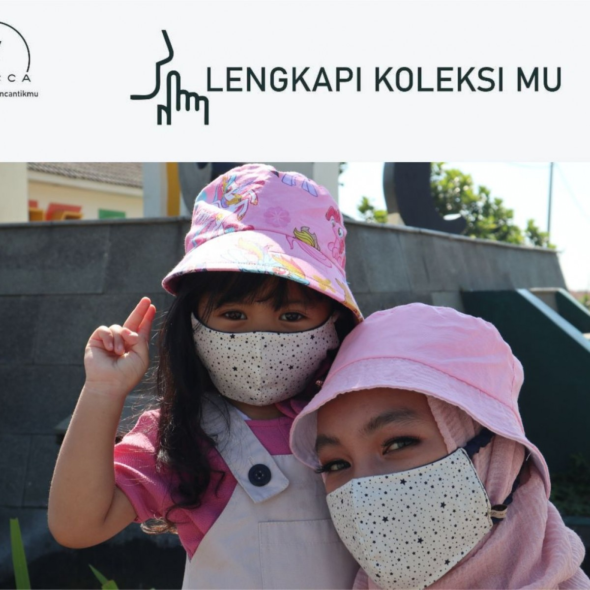 Masker couple mom and Kid