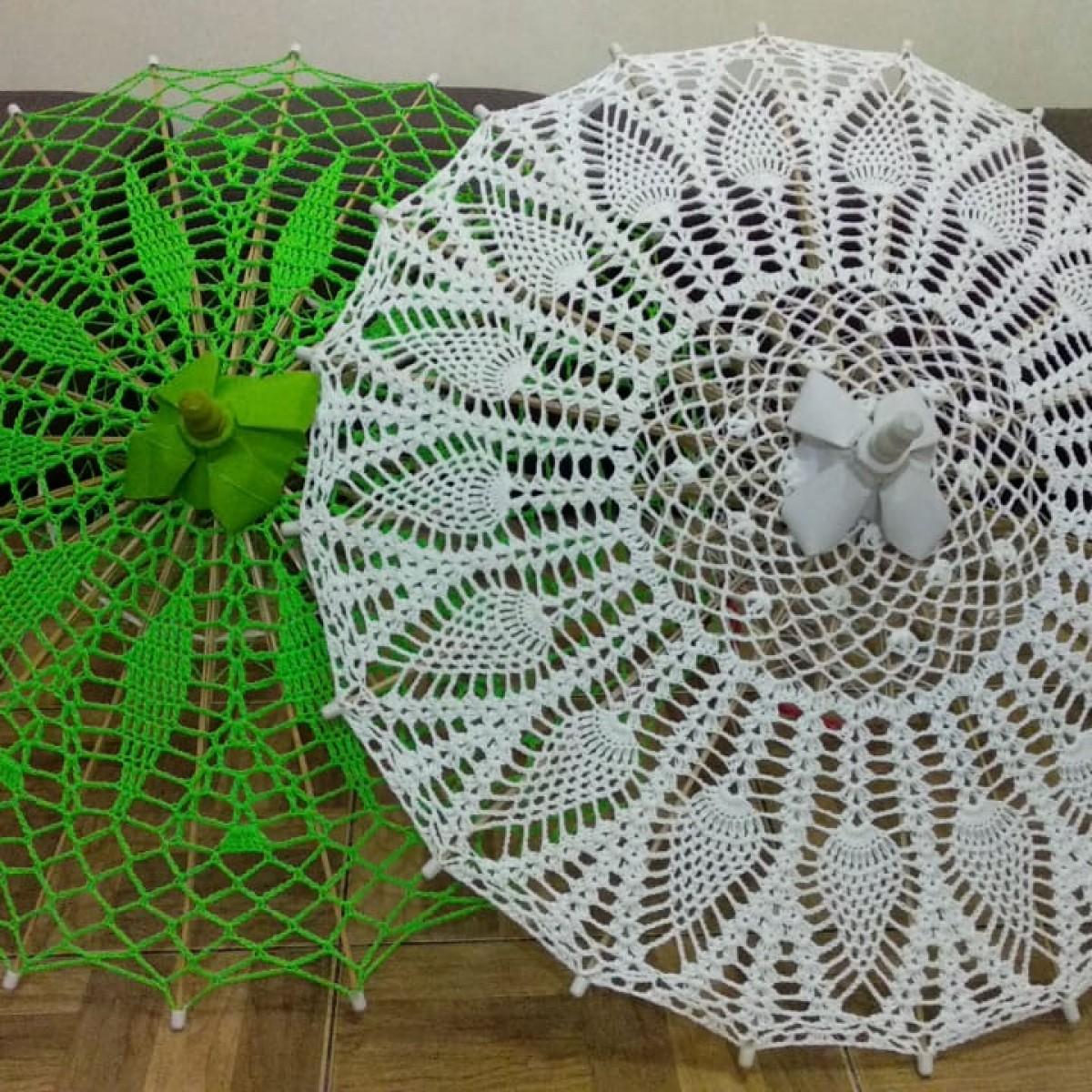 Payung Rajut Nu Geulis