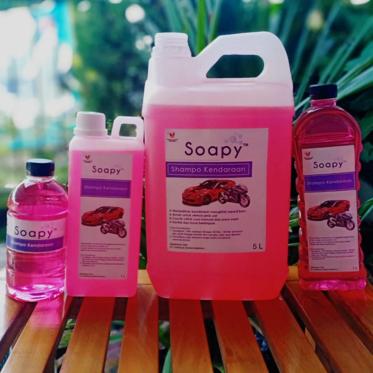 Shampo Mobil dan Motor  Soapy